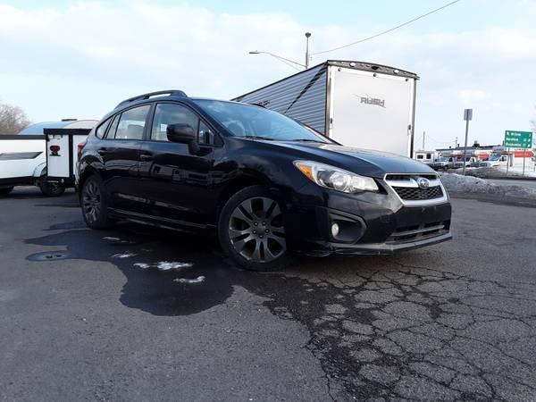 Photo 2012 Subaru Impreza Sport Premium hatchback with 112k miles - $8,995 (Cortland NY)