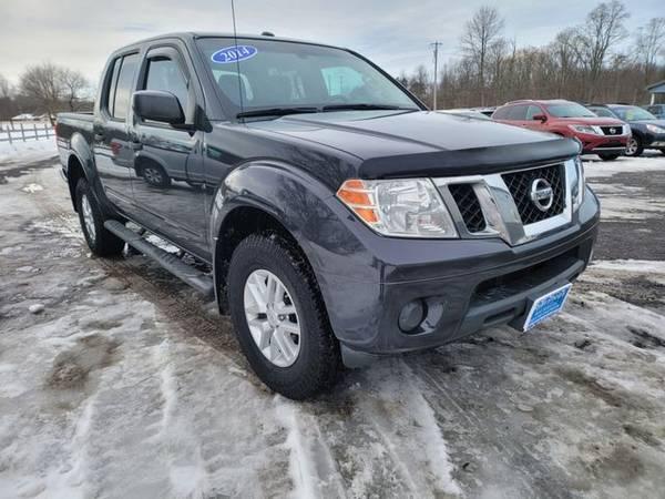 Photo 2014 Nissan Frontier Crew Cab - Good and Bad credit, reputable dealer - $15495.00 (Jordan, ny)