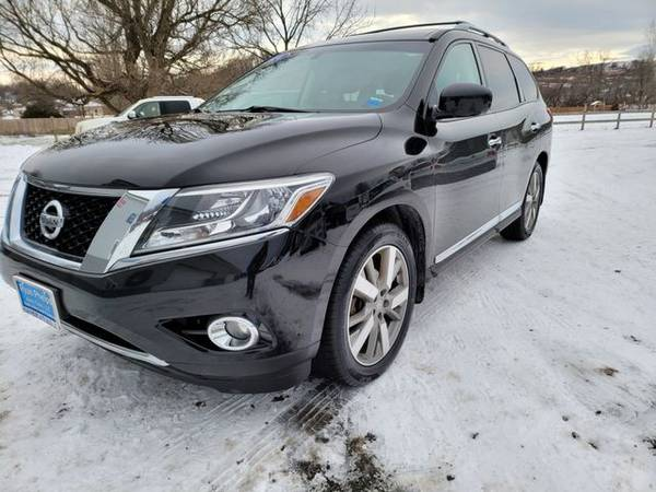 Photo 2014 Nissan Pathfinder - Good and Bad credit, reputable dealer 3 locat - $14995.00 (Jordan, ny)