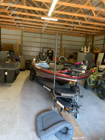 Photo 2017 Nitro Bass boat - $36,500 (North Bay)