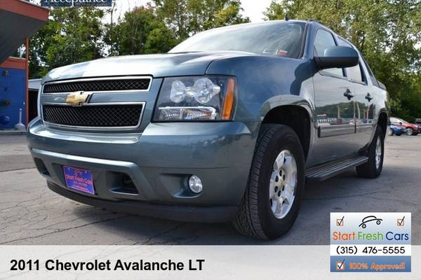 Photo 4WD2011 CHEVY AVALANCHE LTLOADED - $14999 (syracuse)