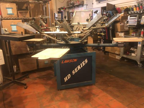 Photo 6 Color Screen Print Setup - $4,800 (Syracuse)