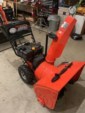 Photo 8 12 HP Ariens Snow Blower - $500 (Central Square)