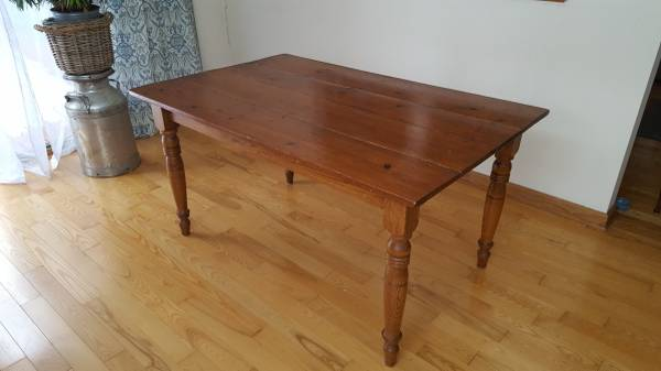 Photo Antique Farmhouse Table - $75 (Manlius)