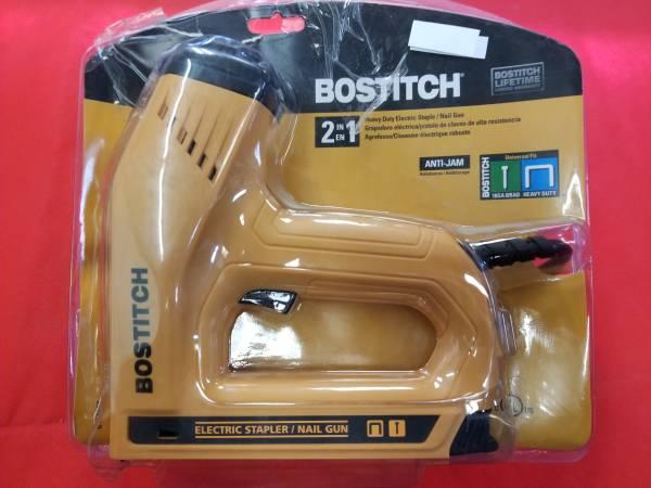 Photo Bostitch electric staple nail gun - $20 (Nedrow)