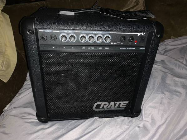 Photo CRATE GUITAR AMPLIFIER MODEL KX-15, BRAND NEW IN EXCELLENT CONDITION - $60 (SYRACUSE)