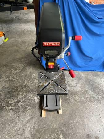 Photo Craftsman 12 Drill Press With Laser - $175 (Auburn, New York)