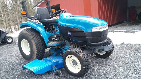 Ford New Holland Tc25d Compact Tractor