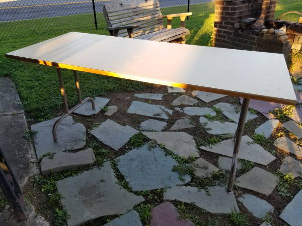 Photo Formica Topped Tables - $75 (Cicero)