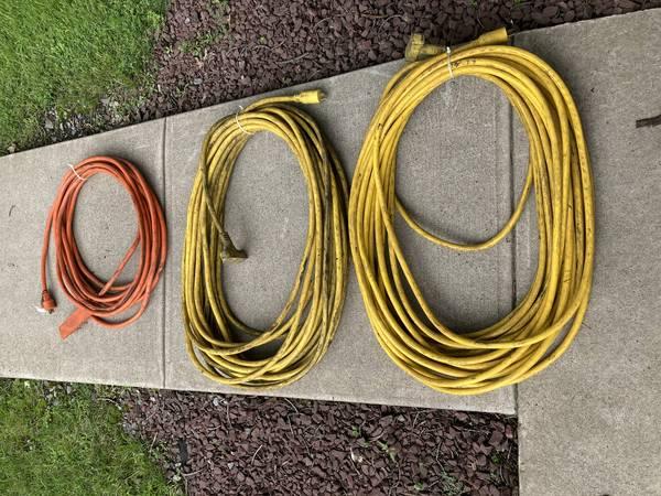 Photo Heavy Duty Power Cords (3) - $100 (DEWITT)