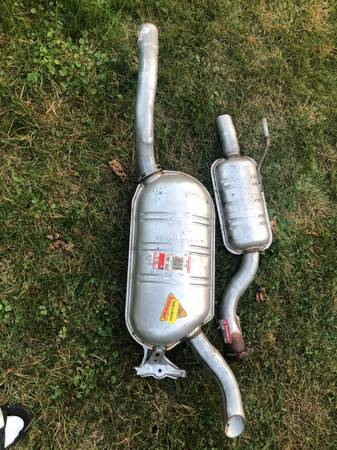 Photo Mercedes Benz Muffler-Never used - $250 (Liverpool)