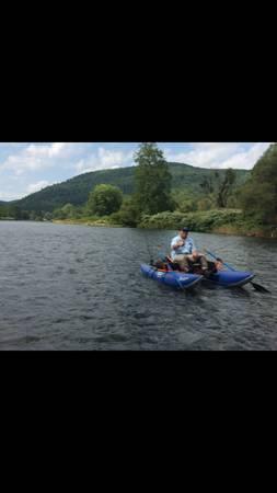 Photo Pontoon Boat for sale - $650 (FAYETTEVILLE)