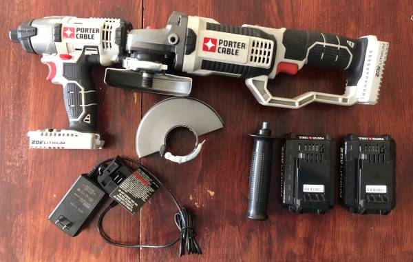Photo Porter Cable Cordless Impact  Grinder - $100 (Syracuse)