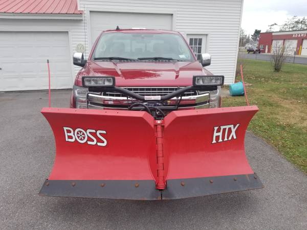 Photo Snow Plow for F150, Boss V-plow - $3,500 (Watertown)