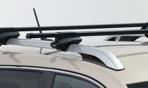 Photo Thule roof rack with 450, for siderails SUV, VAN, WAGON - $145 (syracuse)