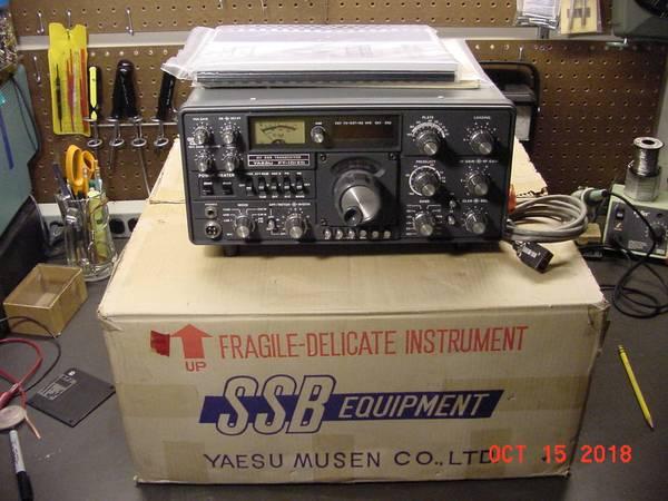 Photo Yaesu FT-101ZD Mark 3 Ham CB Radio w WARC BANDS - $475