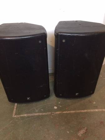 Photo Yorkville PA speakers (passive) - price reduced - $125 (Syracuse (Strathmore area))