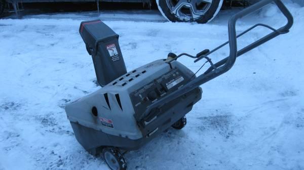 Photo craftsman 5 21 snow thower - $35 (Syracuse)