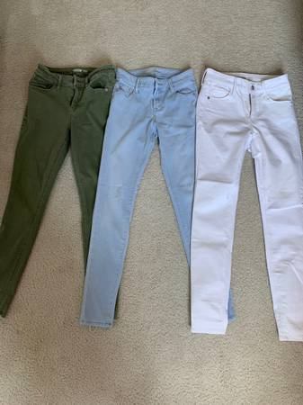 Photo three pair Old Navy jeans like new - $15 (Brewerton)