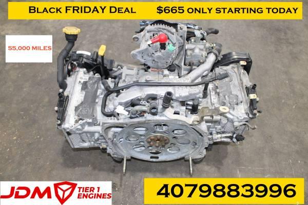 Photo 02-05 Subaru Impreza WRX EJ205 2.0L Quad Cam Turbo Engine EJ20 - $665 (2111 S Division Ave Orlando, FL)