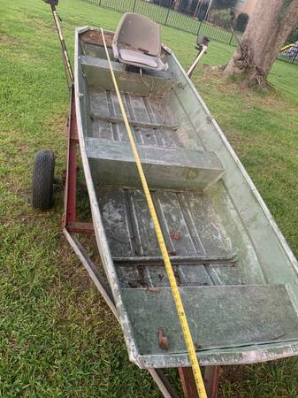 Photo 11Ft Aluminium Boat  Trailer for sale - $450 (TAllahassee)