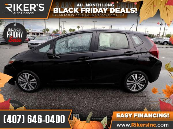 Photo $127mo - 2016 Honda Fit EX - 100 Approved - $127 (Rikers Auto Financial)