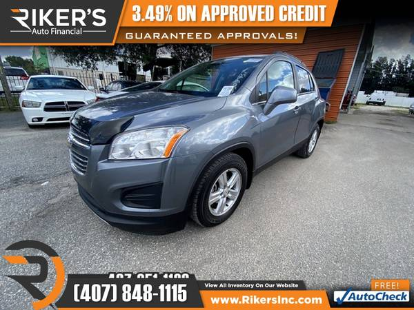 Photo $153mo - 2015 Chevrolet Trax LT - 100 Approved - $153 (Rikers Auto Financial)