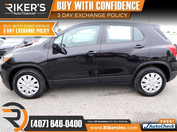 Photo $153mo - 2018 Chevrolet Trax LS - 100 Approved - $153 (Rikers Auto Financial)