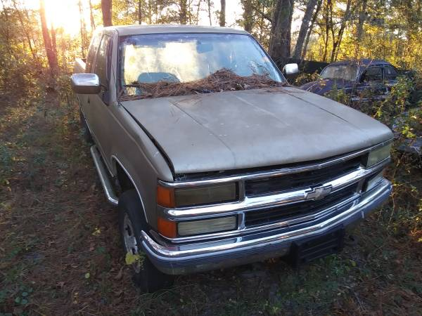 Photo 1995 Chevy 1500 extended cab - $1,100 (Lamont)