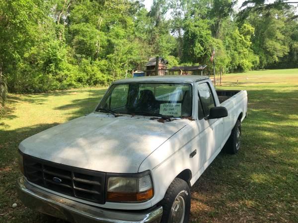 Photo 1997 Ford F250 - $3800 (Tallahasssee)