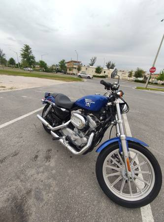 Photo 2008 Harley Davidson Sportster XL883 with low miles - $4,200 (Gainesville)