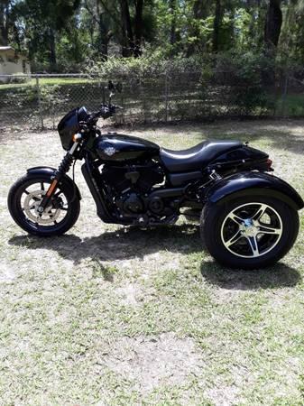Photo 2015 Harley Davidson XG500 Trike - $5,500 (Tallahassee)