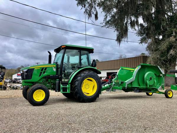Photo 2020 JOHN DEERE 5075E CAB TRACTOR MOWING PACKAGE - $45,900 (CALL ALEX 850-274-0546)