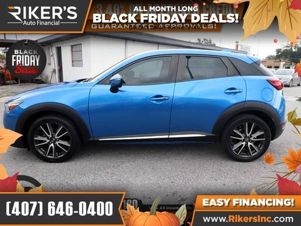 Photo $220mo - 2017 Mazda CX3 CX 3 CX-3 Grand Touring - 100 Appro - $220 (Rikers Auto Financial)