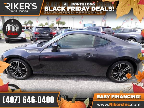 Photo $238mo - 2016 Subaru BRZ Premium - 100 Approved - $238 (Rikers Auto Financial)