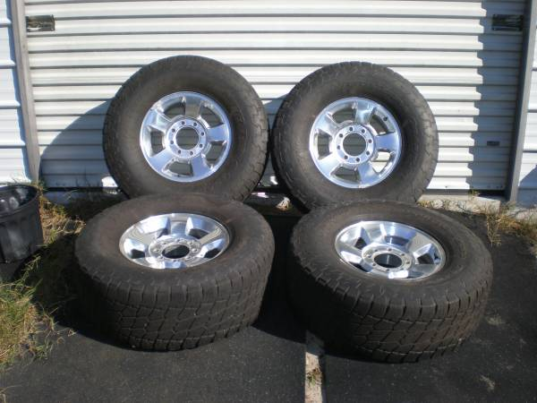 Photo 4 Dodge Rims and tires - $425 (Ocala)