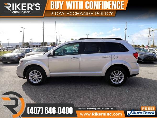 Photo $81mo - 2014 Dodge Journey SXT - 100 Approved - $81 (Rikers Auto Financial)