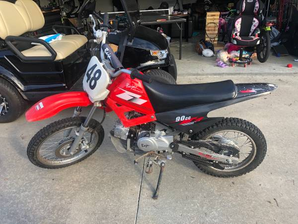 Photo 90 cc Baja Dirt Bike - $500 (Hahira)