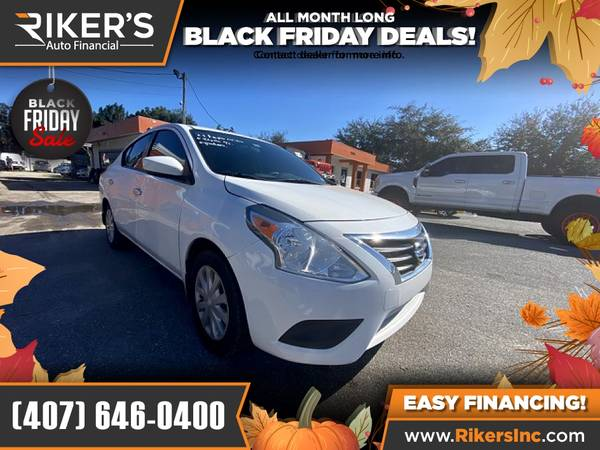 Photo $99mo - 2015 Nissan Versa 1.6 SV - 100 Approved - $99 (Rikers Auto Financial)