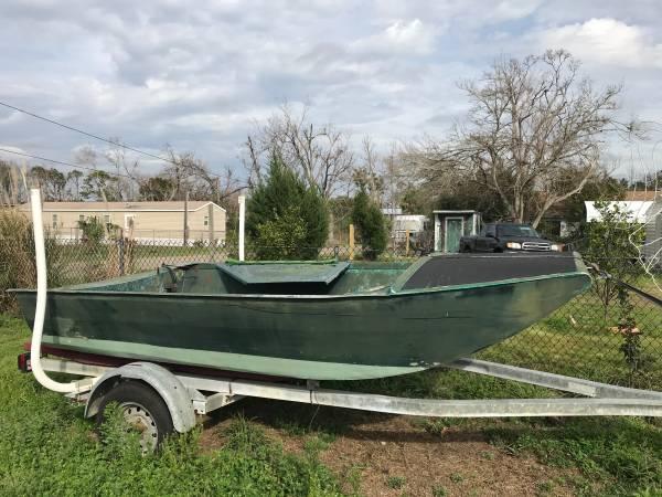 Photo Aluminum Airboat - $1000 (Port St Joe Fl)