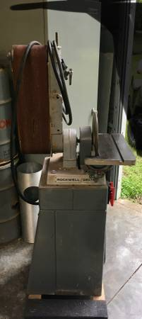 Photo Belt sander 6X48 Delta Rockwell - $450 (Piney Z)