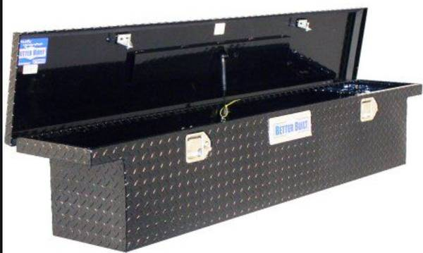 Photo Better Built low profile diamond plate toolbox - $400 (Deer Lake)