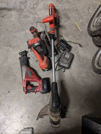 Photo Black and decker power tools - $50 (Thomsville)