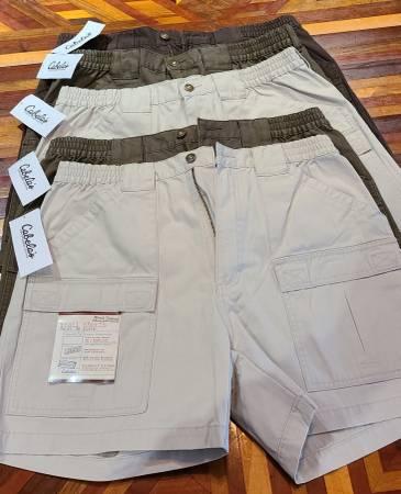 Photo Cabelas Mens Trail Shorts sz36 - $40 (PERRY)