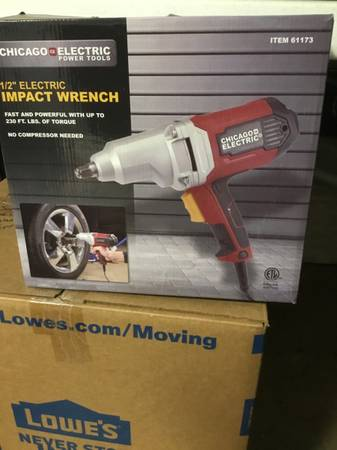Photo Chicago Electric Impact Wrench - $35 (Tallahassee)