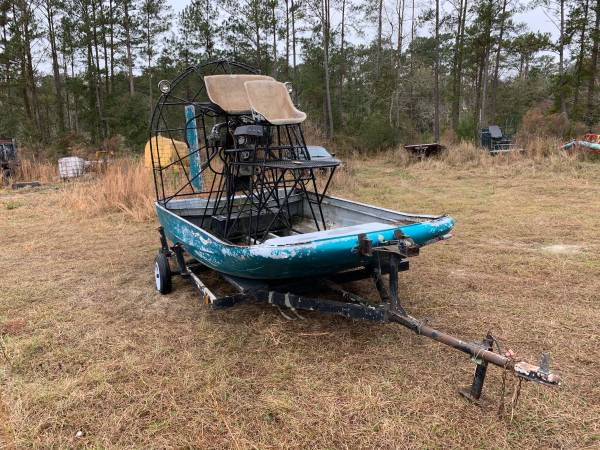 Photo Cottonmouth airboat - $1200 (Monticello)