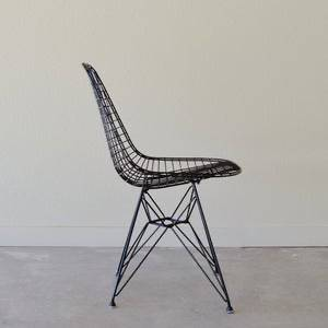 Photo Eames Wire Chair for Herman Miller, DKR, Sandblasted and Powder Coated - $400 (MID-TOWN)