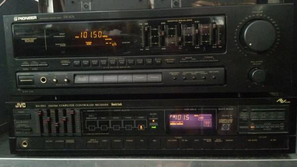 Photo JVC RECEIVER AMPLIFIER RX-350 VINTAGE HOME AUDIO STEREO - $40 (NE Tallahassee)