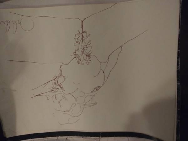 Photo John Lennon Drawings - $1 (Perry)