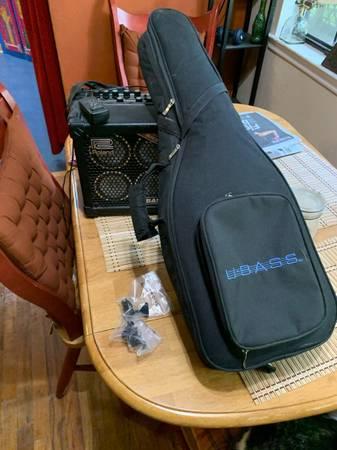 Photo Kala fretless u-bass and Roland micro-cube bass  - $400 (Tallahassee)